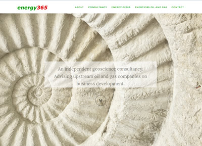 Energy 365 - Oil & Gas Consultants - website design St Albans